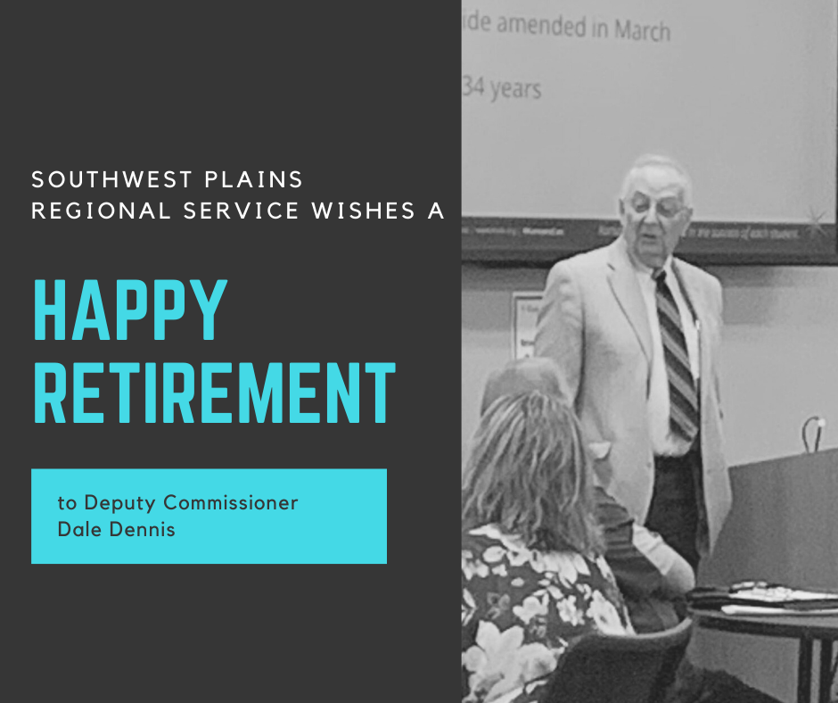 Retirement announced by Dale Dennis