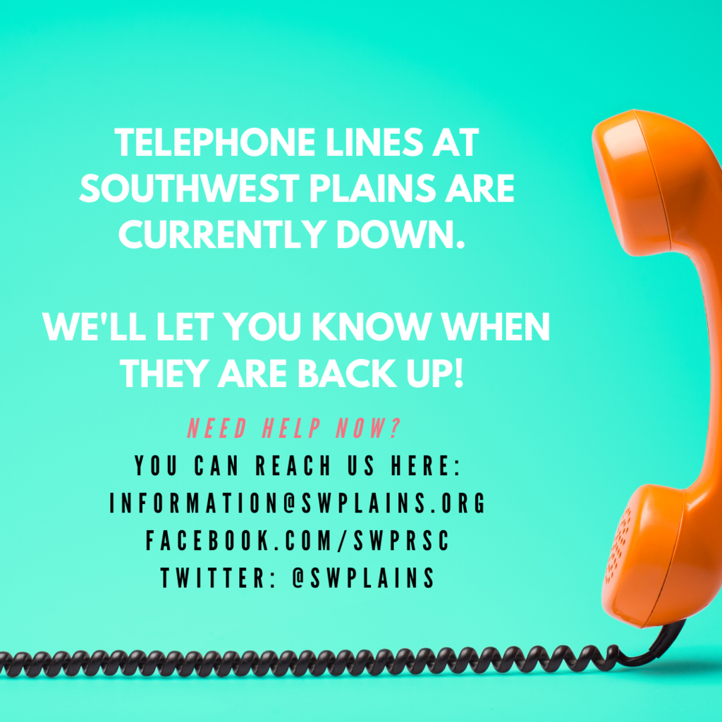 Phone Lines are Currently Down.