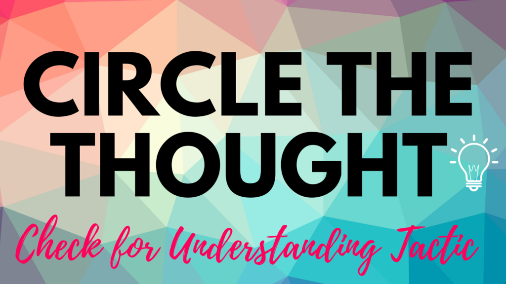 Circle The Thought
